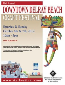 18th Annual Downtown Delray Beach Craft Festival